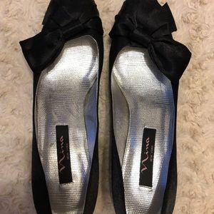 Nina dress heels black with kitten heel!!❤️